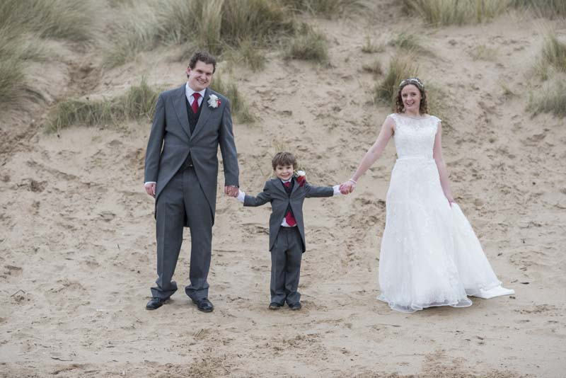 Michelle and Grant on St Annes Dunes