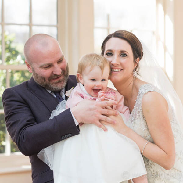Spring wedding photography at Mitton Hall