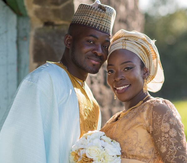 An African wedding near Harrogate