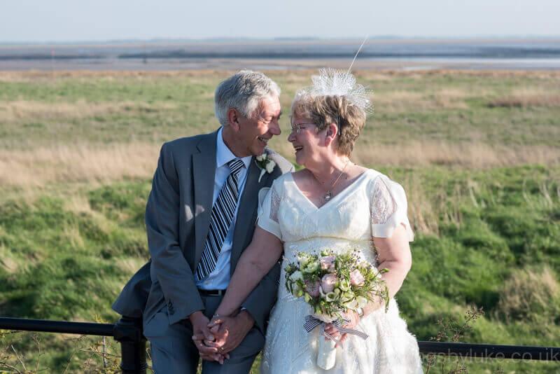 Daryl & Sheila on Lytham Green