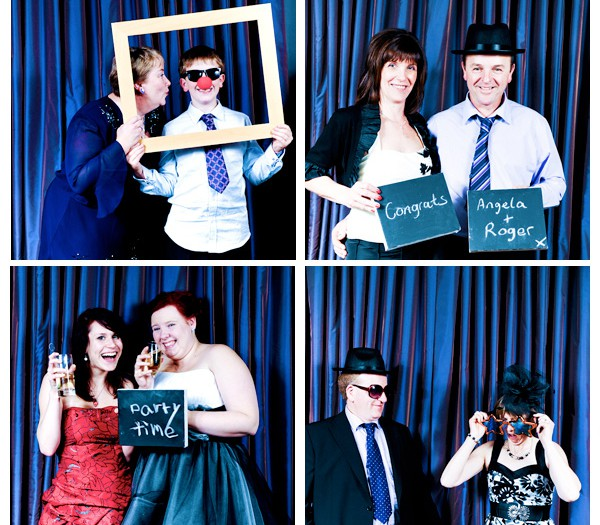 Wedding Photography   Photobooth Style at Bartle Hall in Preston