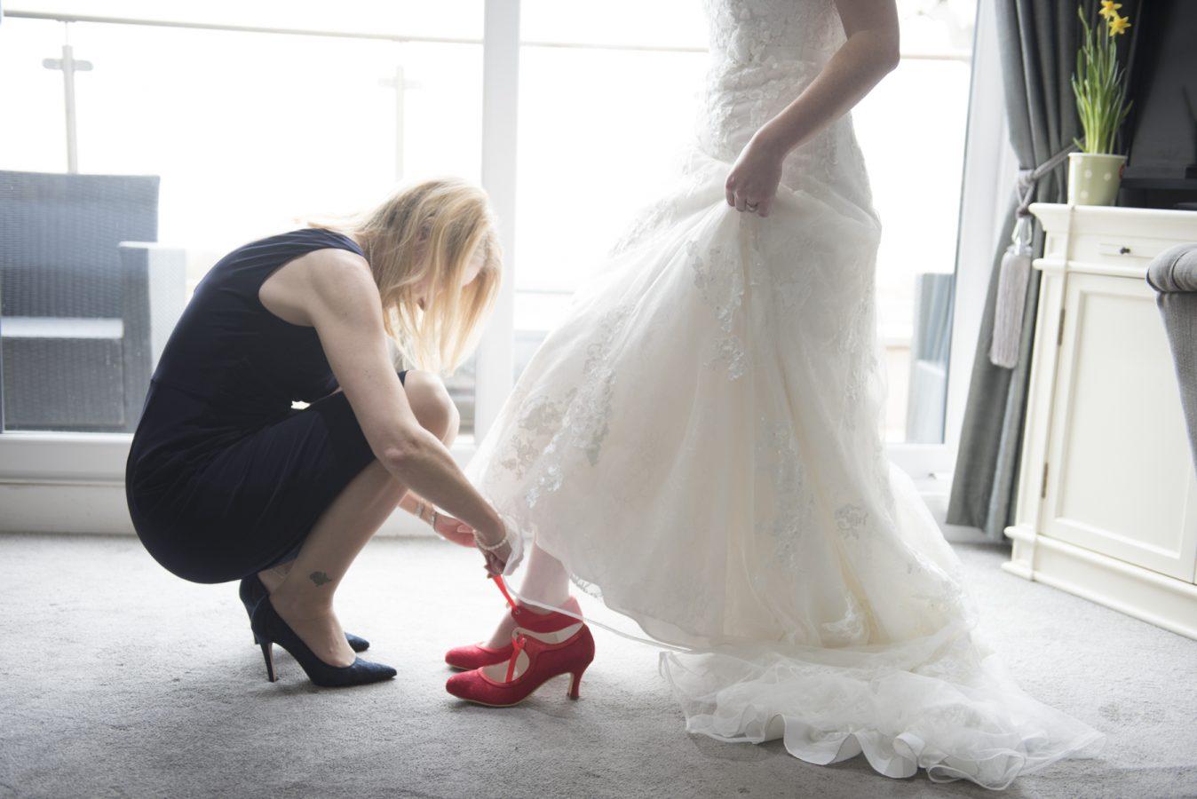 Wedding photography Glendwower Hotel, St Annes