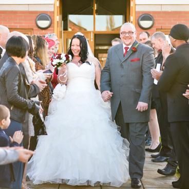 Julie & Bob Phelps Wedding at St Cuthbert's Church