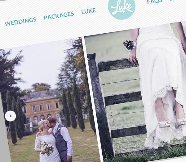 Time for a shake-up? Launching the new weddingsbyluke.co.uk website