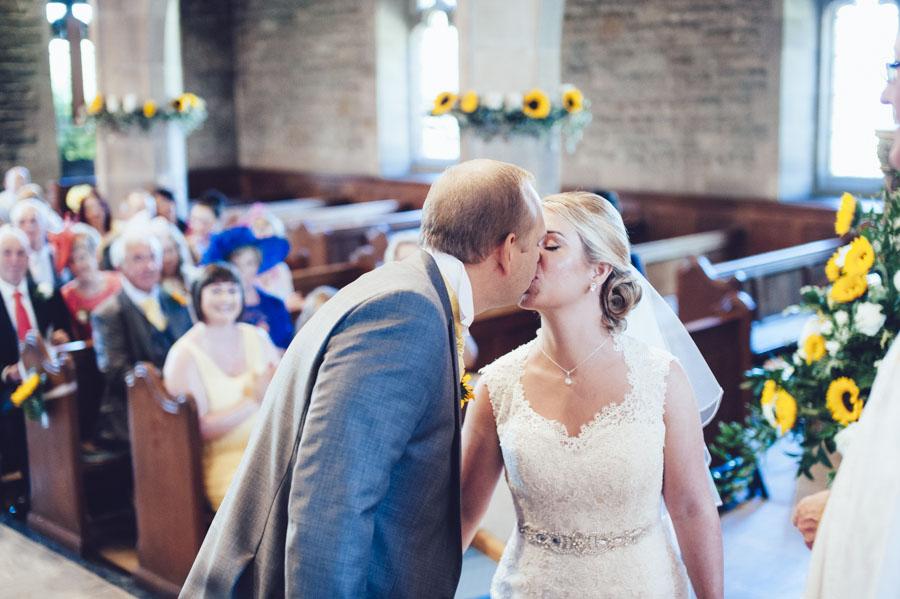 Gill & Tim's Bashall Barn Wedding