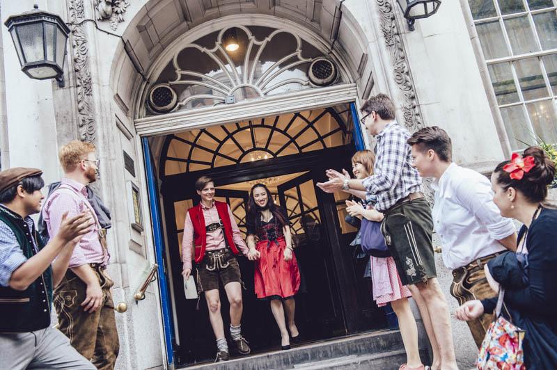 Tiffany & Rebecca's Civil Partnership in Chelsea