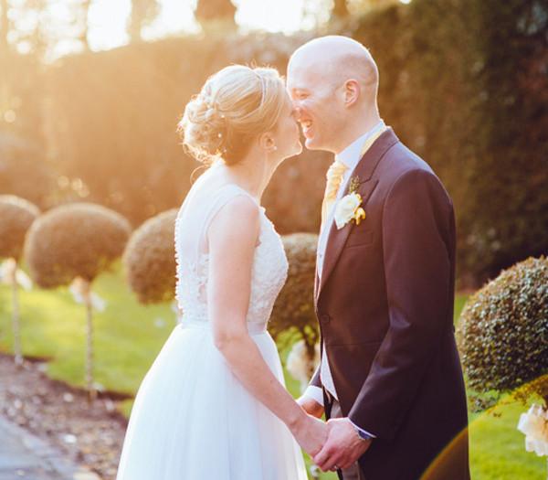 The Preston wedding that sparkled...