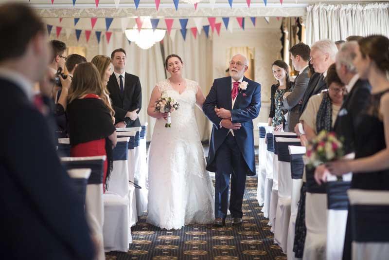 Rachel Gavin Bartle Hall Wedding