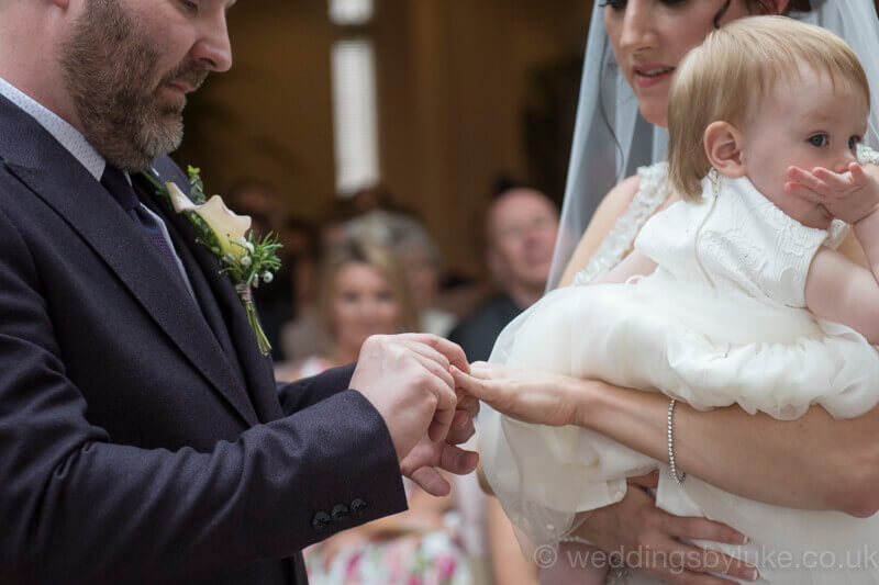 Paul Placing Ring on Claire's Finger