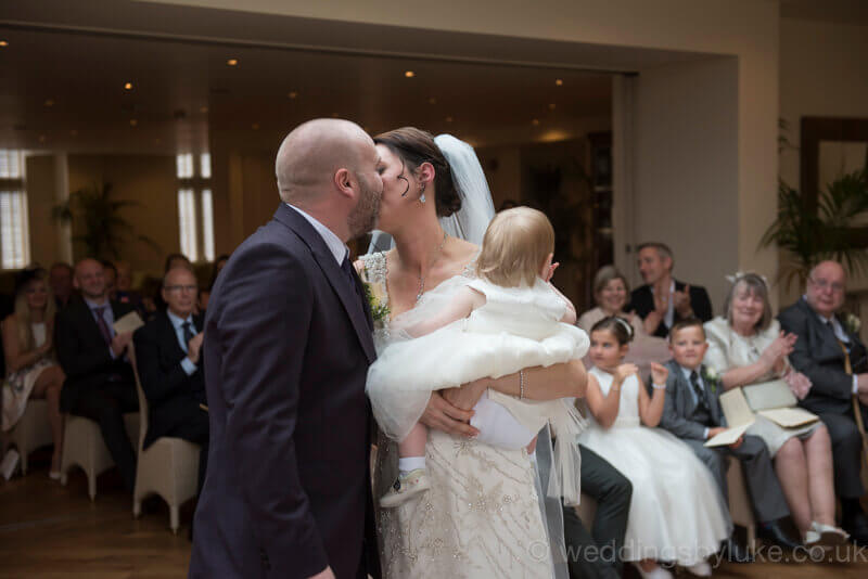 Claire & Paul's First Kiss as Married Couple