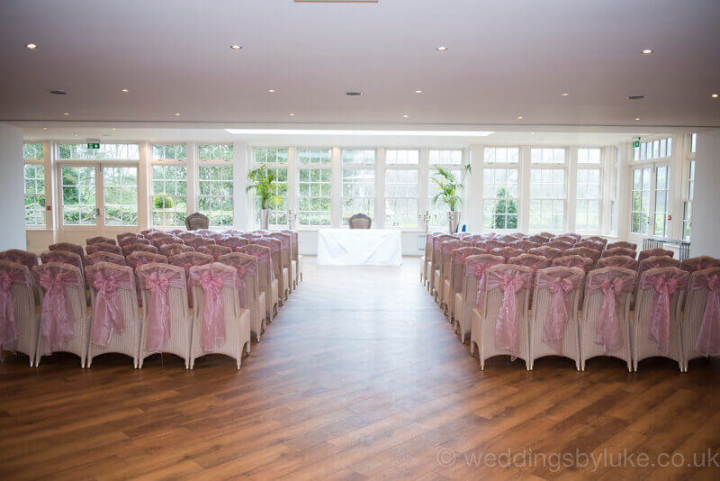 Chairs Laid Out in Mitton Hall