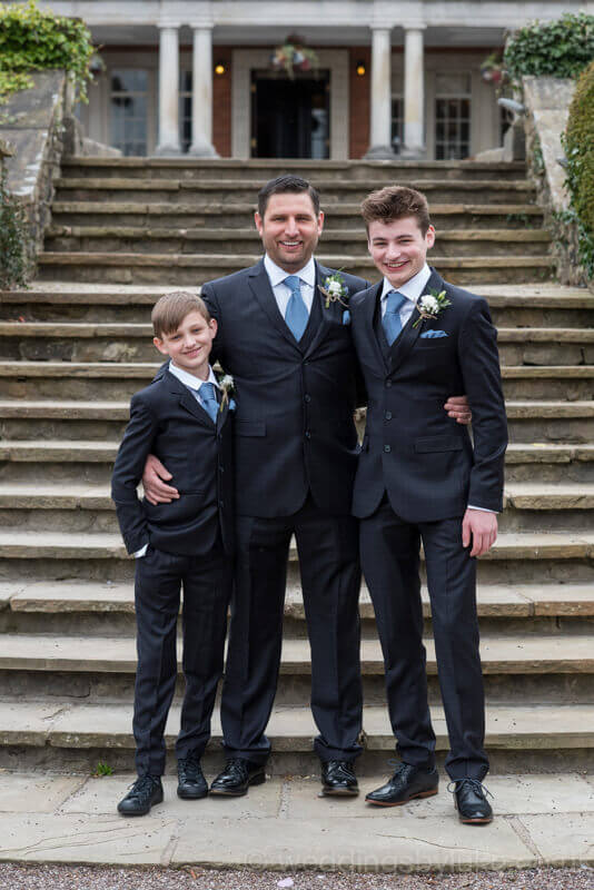 Darren with his 2 sons