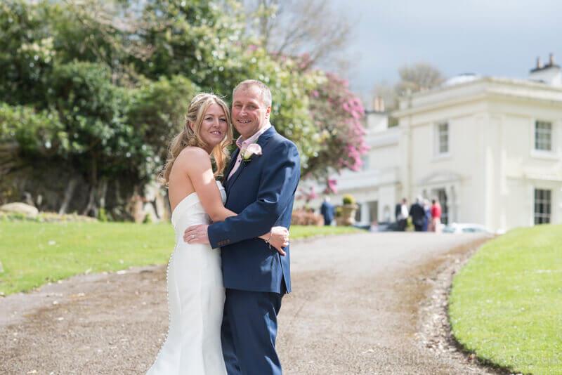 Cora & Gareth Outside Storrs Hall