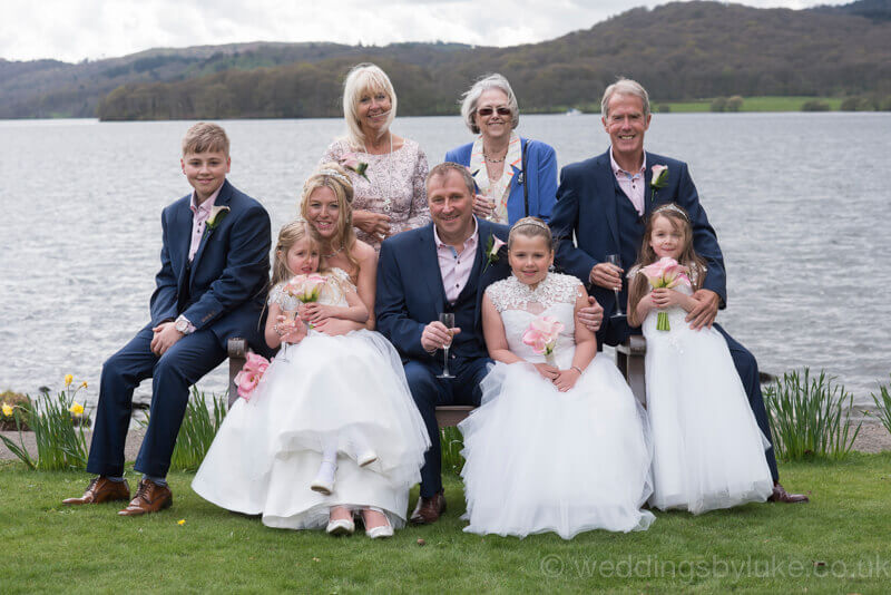 Cora & Gareth's Families @ Storrs Hall